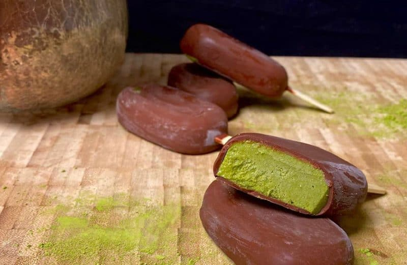Matcha CBD Ice Cream Bars