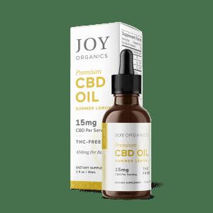 CBD Oil Tinctures 450mg/bottle / Summer Lemon