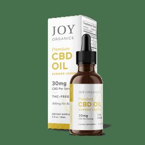 CBD Oil Tinctures 900mg/bottle /Summer Lemon