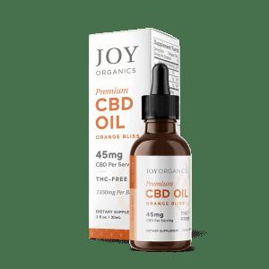 CBD Oil Tinctures 1350mg/bottle /Orange Bliss
