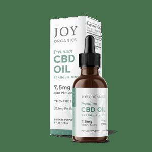 CBD Oil Tinctures 225 mg/bottle /Tranquil Mint