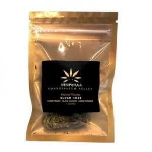 Hempzilla CBD Flower Bag 100mg Full Spectrum (1g bag) Suver Haze