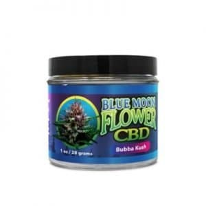 Blue Moon Hemp CBD Flower Buds in Jar (Choose Size & Strain)