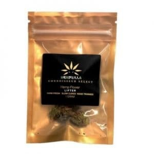 Hempzilla CBD Flower Bag 100mg Full Spectrum (1g bag) Lifter