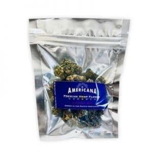 Americana CBD Flower Blueberry Haze 1/4 oz.