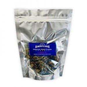 Americana CBD Flower Blueberry Haze 1/2 oz.