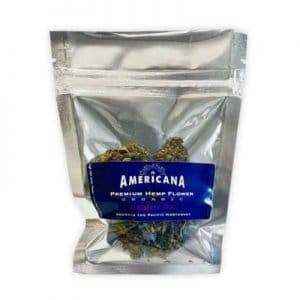 Americana CBD Flower Blueberry Haze 1/8 oz.