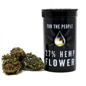 CBD Flower by For the People 27% Wine Widow (Choose Size)