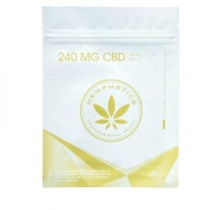Hempmetics Transdermal CBD Patch 240mg total (pack of 4)