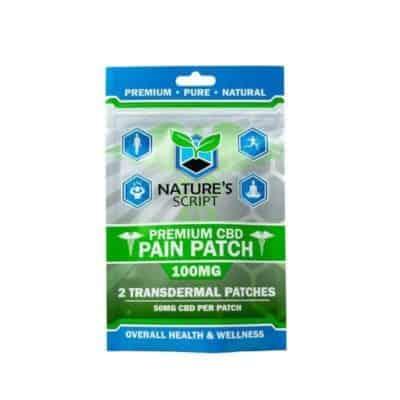 Nature's Script CBD Pain Patches