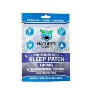 Nature's Script CBD Sleep Patches