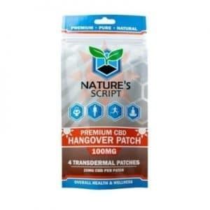 Nature's Script CBD Hangover Patches