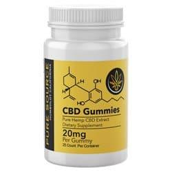 Pure Source CBD Gummies 25 piece