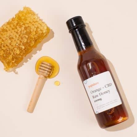 Populum Orange + CBD Raw Honey