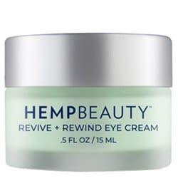 Hemp Beauty Revive + Rewind Eye Cream 0.5 oz