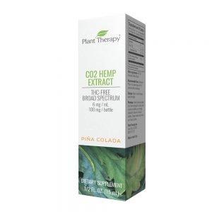 CO2 Hemp Extract Pina Colada 100 mg/15 mL