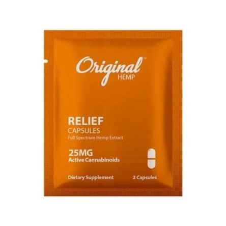 Original Hemp Relief Capsule – Daily Dose