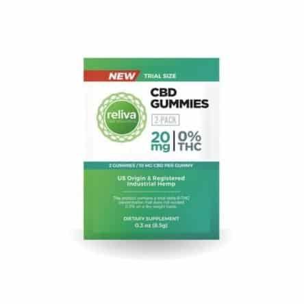 Reliva CBD Wellness Gummies
