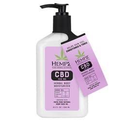 Hempz Rose Oil CBD Herbal Body Moisturizer 8.5 oz