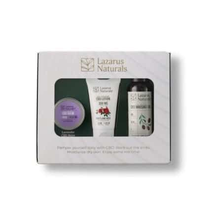 Lazarus Naturals 2020 Topical CBD Holiday Gift Pack
