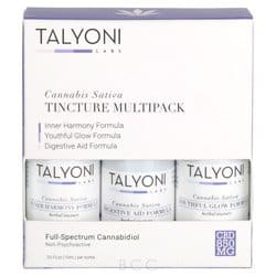 Talyoni Cannabis Sativa Tincture Multipack 850 MG