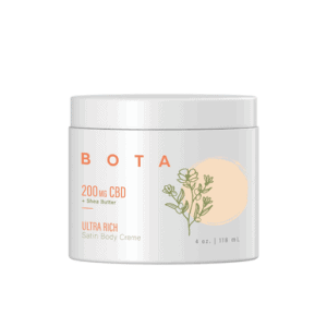 Ultra Rich Satin Body Crème + Shea Butter - 200 mg CBD (4 oz)