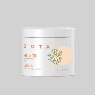 CBDistillery Ultra Rich Satin Body Crème + Shea Butter – 200 mg CBD (4 oz)