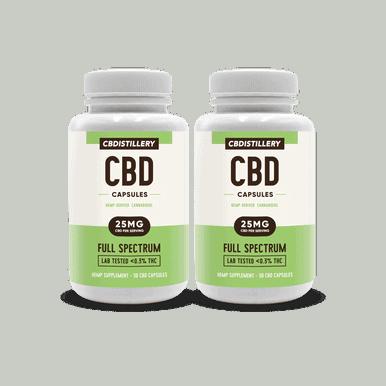 BOGO! CBD Pill Capsules - 25mg - 30 count