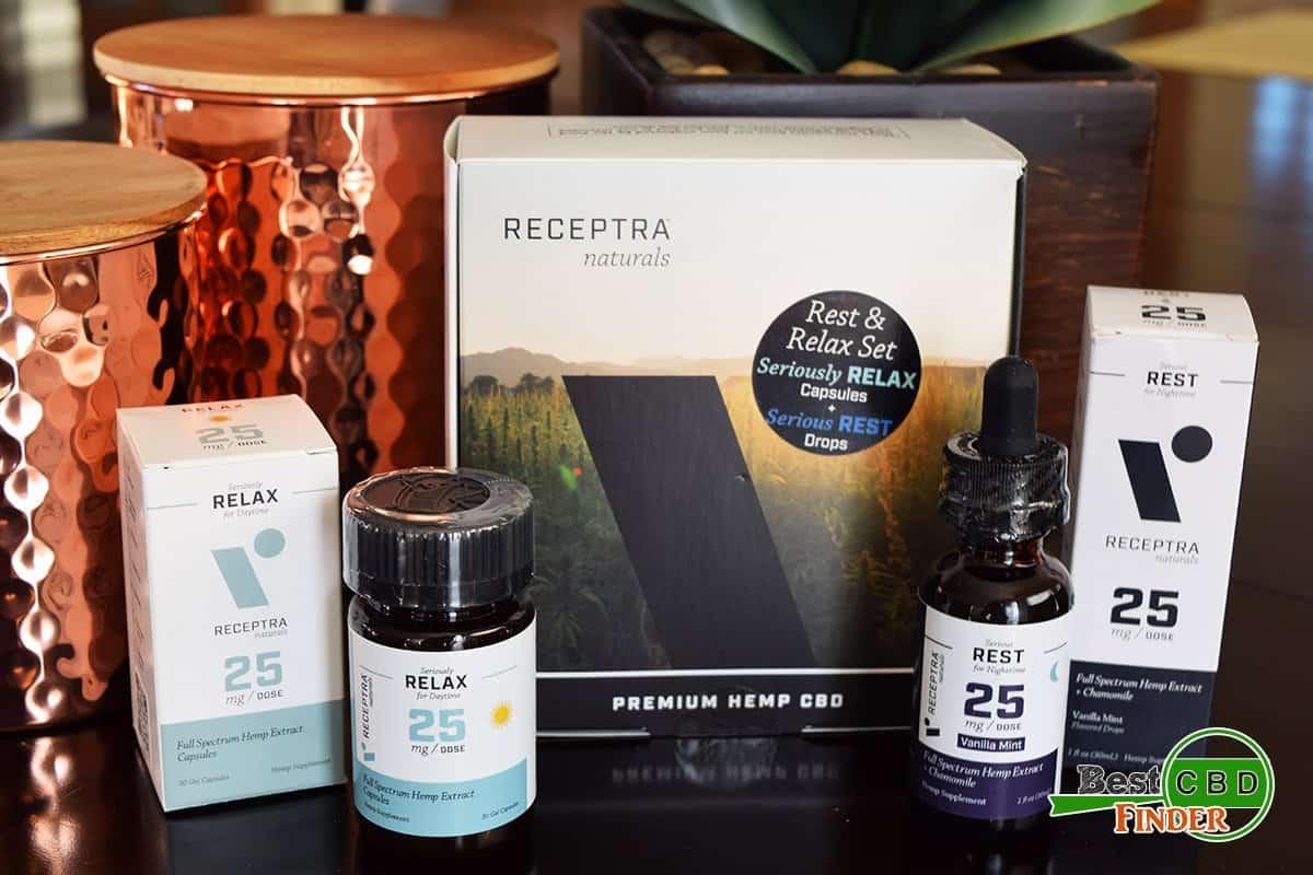 Receptra Naturals Rest and Relax