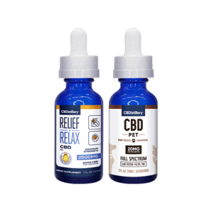 Extra Strength Man's Best Friend CBD Oil Pack - 2500mg Tincture - 600mg Pet Tincture