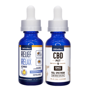 Man's Best Friend CBD Oil Pack - 1000mg Tincture - 150mg Pet Tincture
