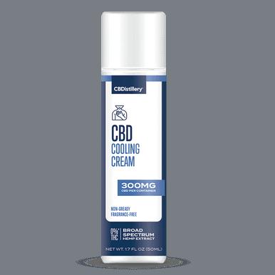 300mg Broad Spectrum CBD Cooling Cream 0% THC*