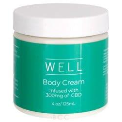 Well CBD Body Cream 4 oz