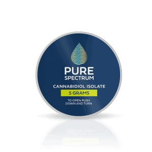 Pure Spectrum 99% Pure Cannabidiol Isolate 5Gram