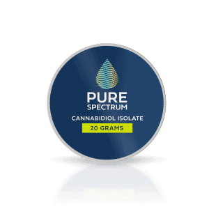 Pure Spectrum 99% Pure Cannabidiol Isolate 20Gram