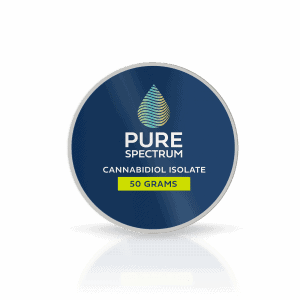 Pure Spectrum 99% Pure Cannabidiol Isolate 50Gram