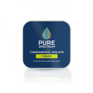 Pure Spectrum 99% Pure Cannabidiol Isolate 1Gram