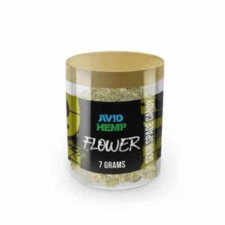 Avid Hemp CBD Flower – Sour Space Candy, 7