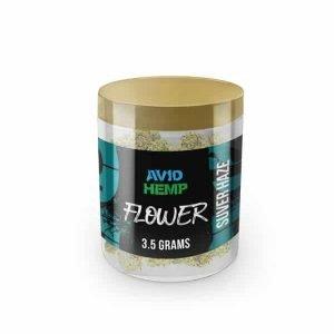 CBD Flower - Suver Haze, 3.5