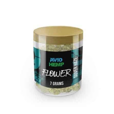 Avid Hemp CBD Flower – Suver Haze, 7