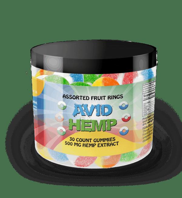 CBD Gummy Rings 500mg 30ct
