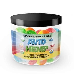 CBD Gummy Rings 250mg 15ct