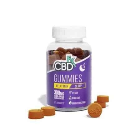 CBDfx CBD Gummies for Sleep with Melatonin 1500mg