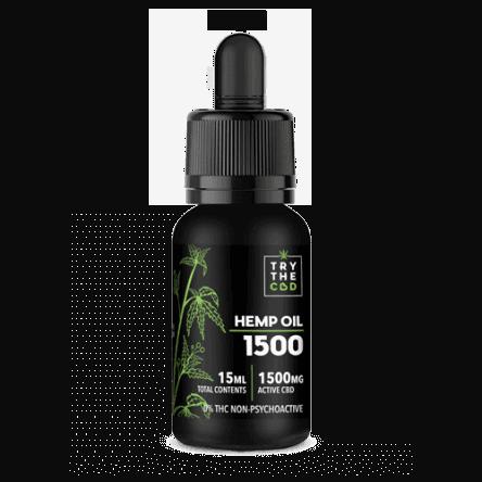 Try The CBD CBD Oil 1500 mg THC FREE