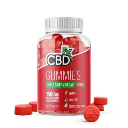 CBDfx CBD Gummies with Apple Cider Vinegar