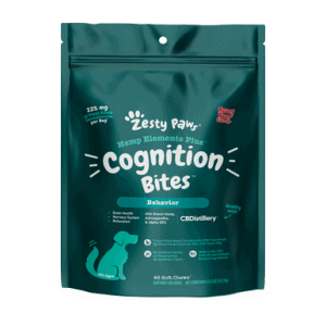 Zesty Paws CBD Cognition Bites Soft Chews (Roast Beef) - 225 mg (5 mg)