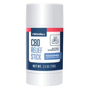 1000mg Isolate CBD Relief Stick - 0% THC