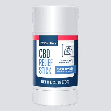 500mg Isolate CBD Relief Stick - 0% THC