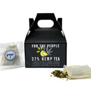 For The People Hemp Tea 27% CBD Green Tea (7 Bags)