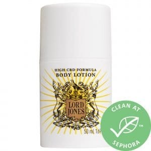 Lord Jones High CBD Formula Body Lotion Grapefruit 1.7 oz/ 50 mL